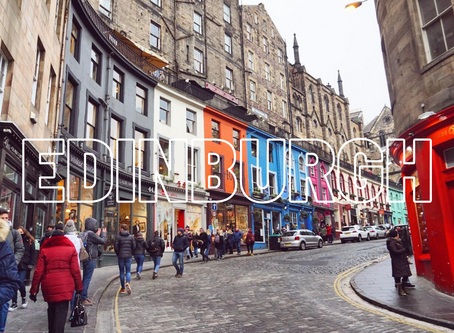 STAYCATION SERIES: Edinburgh