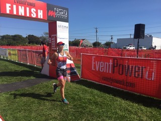Montauk 70.3 finish