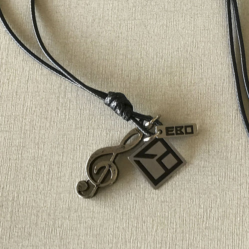 """Colar EBO """"clave de sol"""" (Unisex)"""