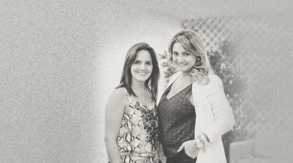 Bruna Berti e Ana Carolina Trevisan - Grupo Ample Eventos Assessoras