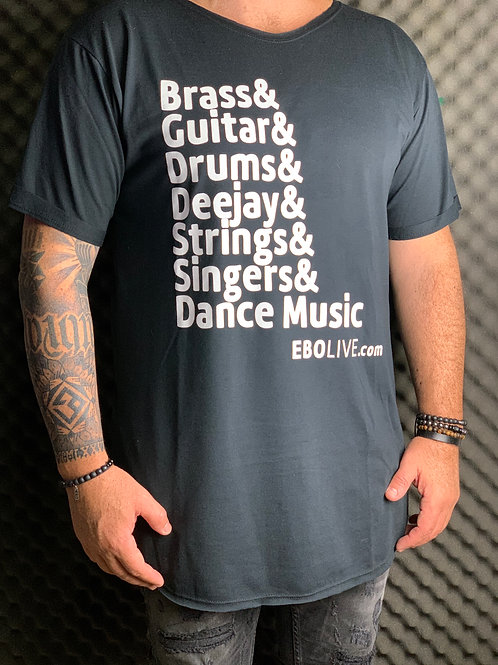 T-Shirt long EBO Live