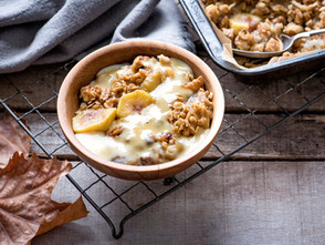 Genuinely Southern Forests Autumn Feijoa and Pear Crumble