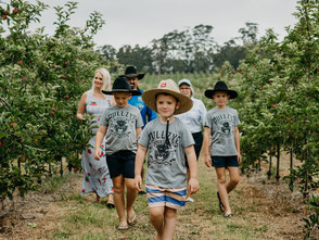 BITING A BRAVO(TM) APPLE LED TO SOUTHERN FORESTS ADVENTURE FOR QUEENSLAND FARMERS