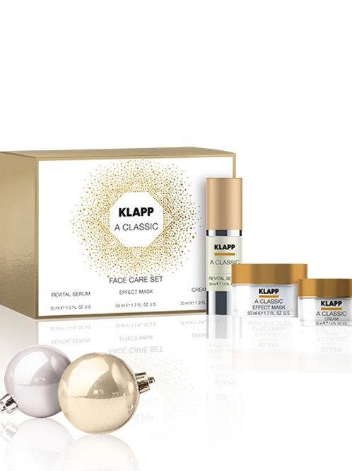 A CLASSIC FACE CARE SET Revital Serum, Effect Mask & Cream - 30ml, 50ml, 30ml