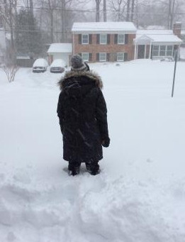記録的大雪⛄️