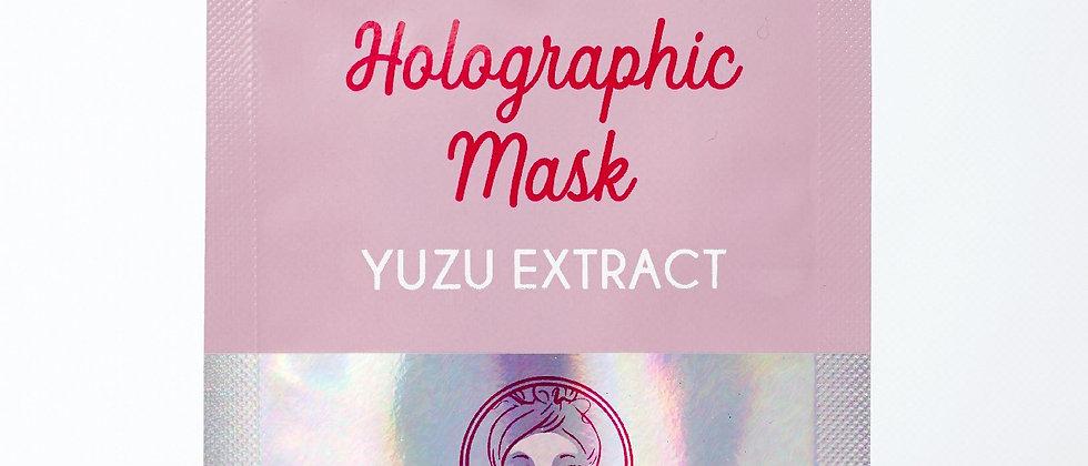 HOLOGRAPHIC MASK: YUZU EXTRACT