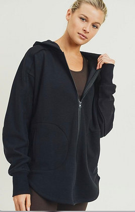 Mono B Black Zip up