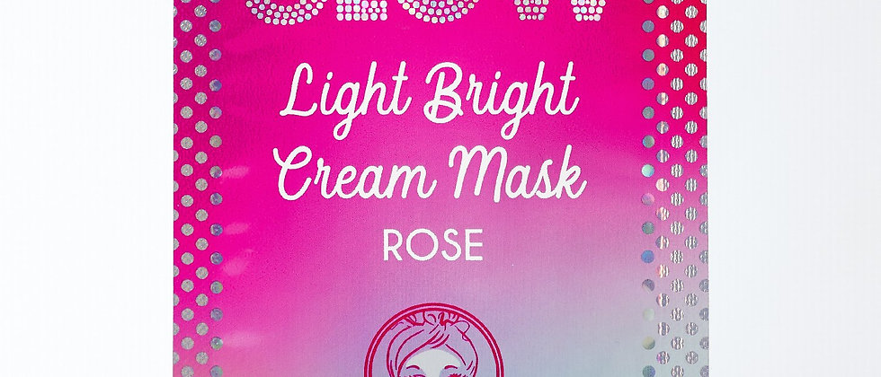 Light Bright Cream Mask: Rose Light Bright Cream Mask: Rose   LIGHT BRIGHT CREA