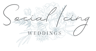 Social Icing Wedding Logo Arkansas Wedding Planner