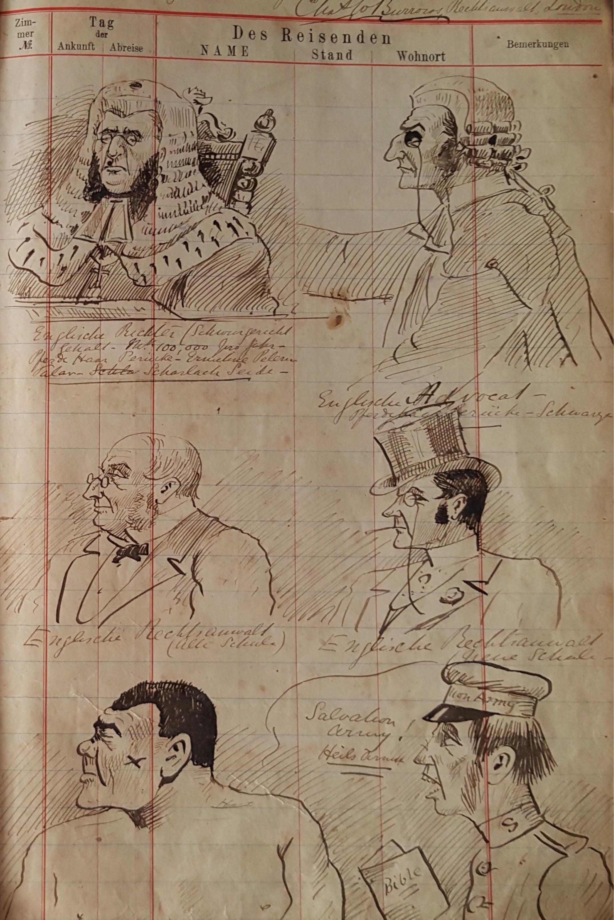 Original Zeichnungen