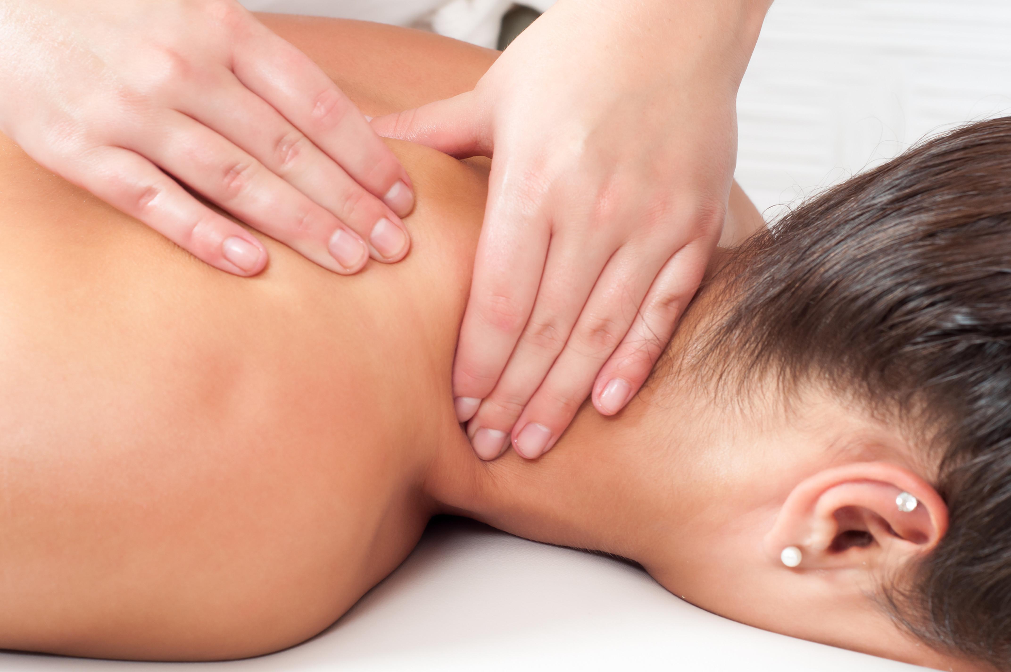 Back Neck and Shoulder Massage