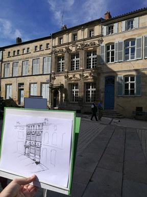 Apprendre à lire et dessiner une façade.