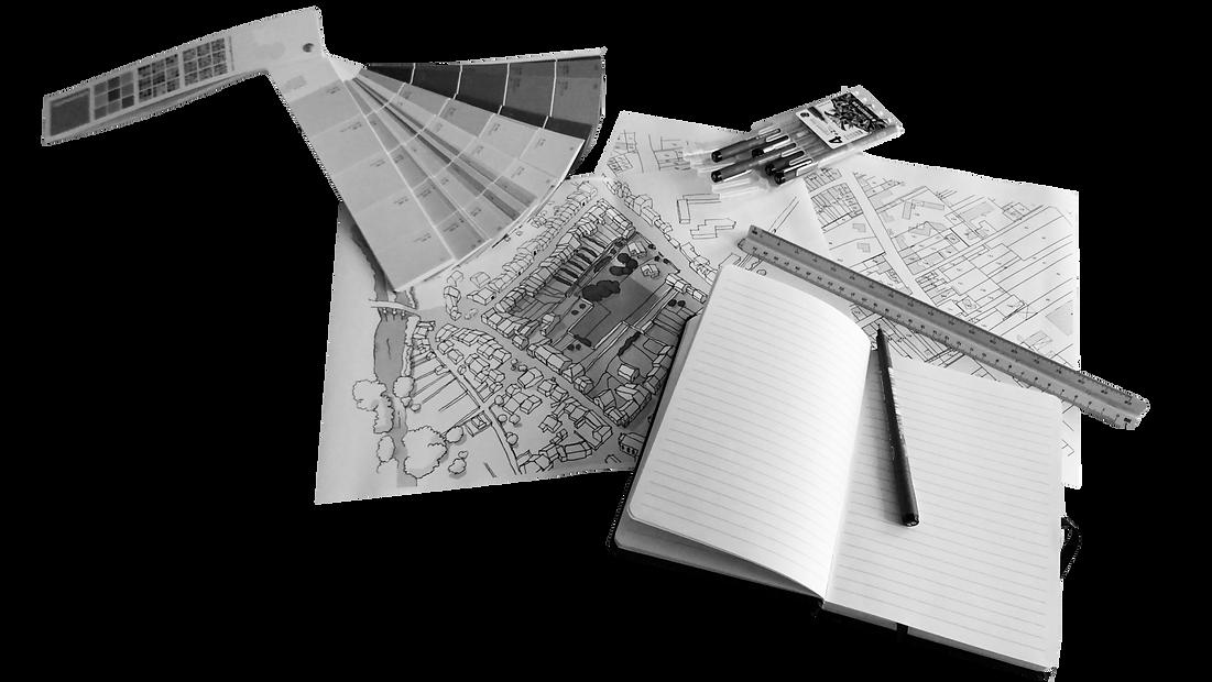 dessin, outils, architecte