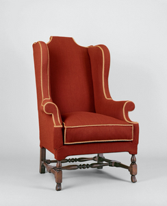 Earliest known type of American easy chair