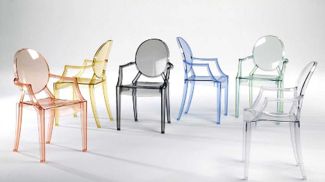 Versatile Ghost Chair by Philippe Starck