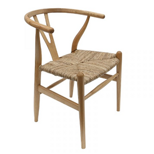 Wishbone chair by Hans Wegner is an icon of mid-century modern style