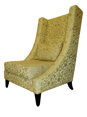 Kasbah Chair by Kaath - A Contemporary High Back Chair