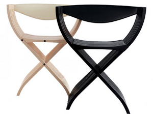 Contemporary version of the Curule Chair