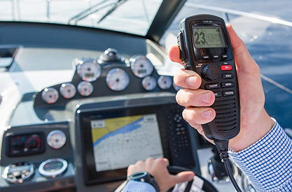 vhf radio international nautical school