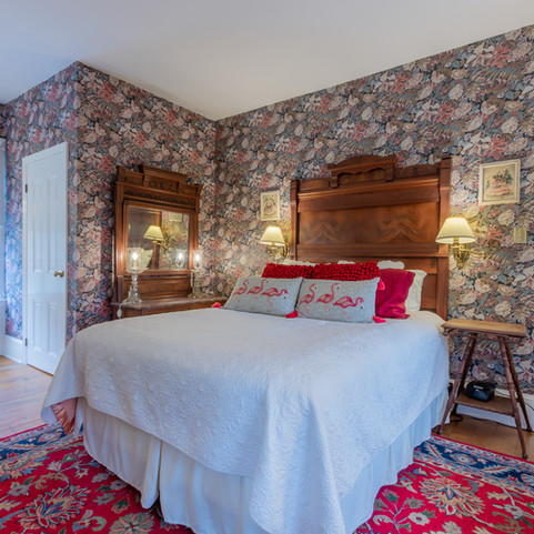 Bedroom at The John F. Craig House