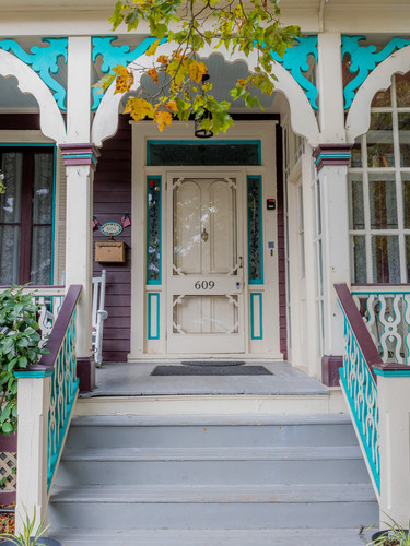 The Front Porch at The John F. Craig House