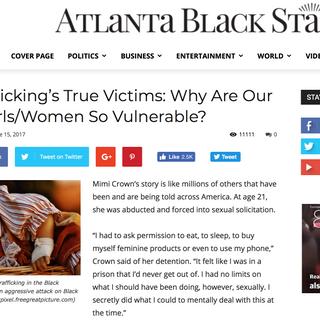 Lauren Hersh in Atlanta Black Star