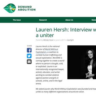 Buzz | Lauren Hersh UNsilence