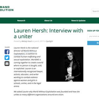 Demand Abolition with Lauren Hersh