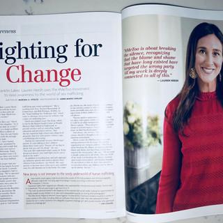 (201) Magazine interview with Lauren Hersh