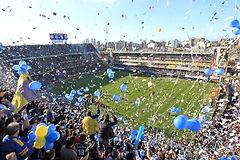 Campus _ campamento de fútbol en Buenos Aires, Argentina, Sudamérica – Partido de fútbol profesional