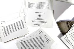 Lettres d'un inconnu (8)