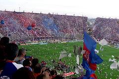 Vente de billet _ ticket _ place pour match de foot _ football à Buenos Aires, Argentine, Amérique du Sud – San Lorenzo