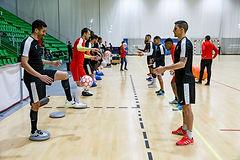 Gira _ tour de futsal para equipos en París, Francia, Europa – Entrenamientos