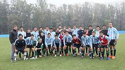 Atividades de futebol em Buenos Aires, Argentina, América do Sul – Jogo amistoso contra um time _ equipe de um clube profissional, torneio e treinamentos