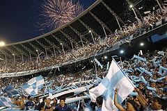 Vente de billet _ ticket _ place pour match de foot _ football à Buenos Aires, Argentine, Amérique du Sud - Racing