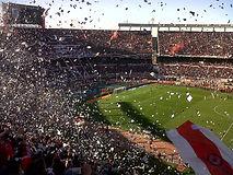 Vente de billet _ ticket _ place pour match de foot _ football à Buenos Aires, Argentine, Amérique du Sud – River Plate