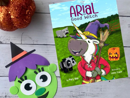 Arial the Good Witch: Unicorns, Halloween, Minecraft, and Problem Solving! OH MY!