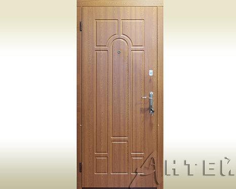 Двери входные уличные 960*2050мм левые