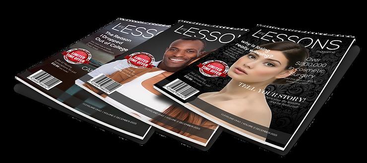 Life Lessons Magazine Showcase