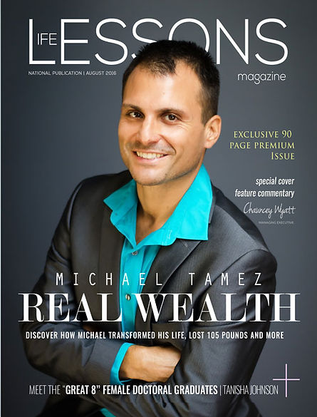 Germaine Moody Cover in Life Lessons Magazine