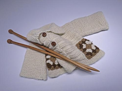 Alpaca's Wool Coat (Beige-brown)