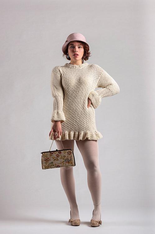Alpaca's Wool Sweater (Beige)