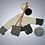 Thumbnail: Alpaca's Wool Coat (Beige-Grey-Black)