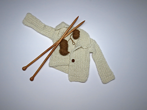 Alpaca's Wool Coat (Beige)