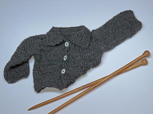 Alpaca's Wool Coat (Grey)