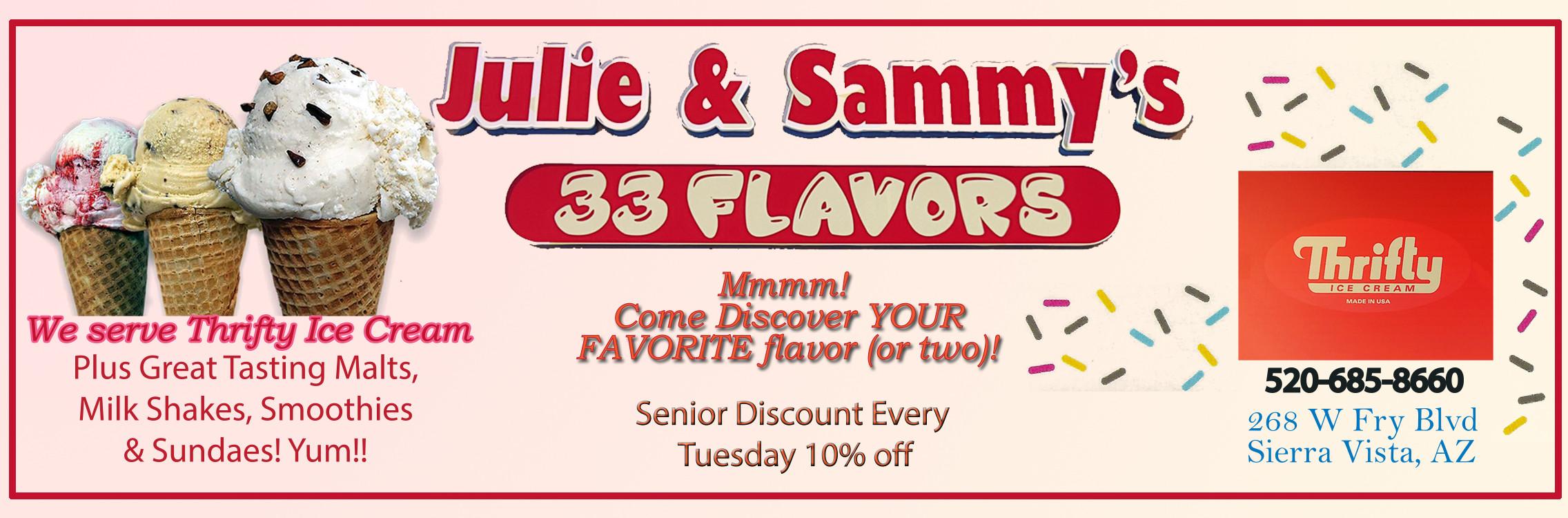 ad_julie_sammy_33_flavors 2020-2021 2012