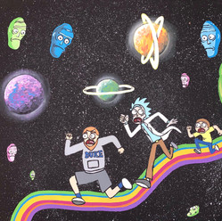 Rick and Morty Commission