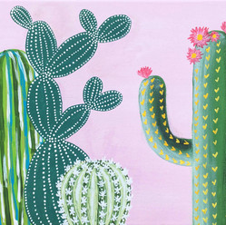 Cute Cactus Commission