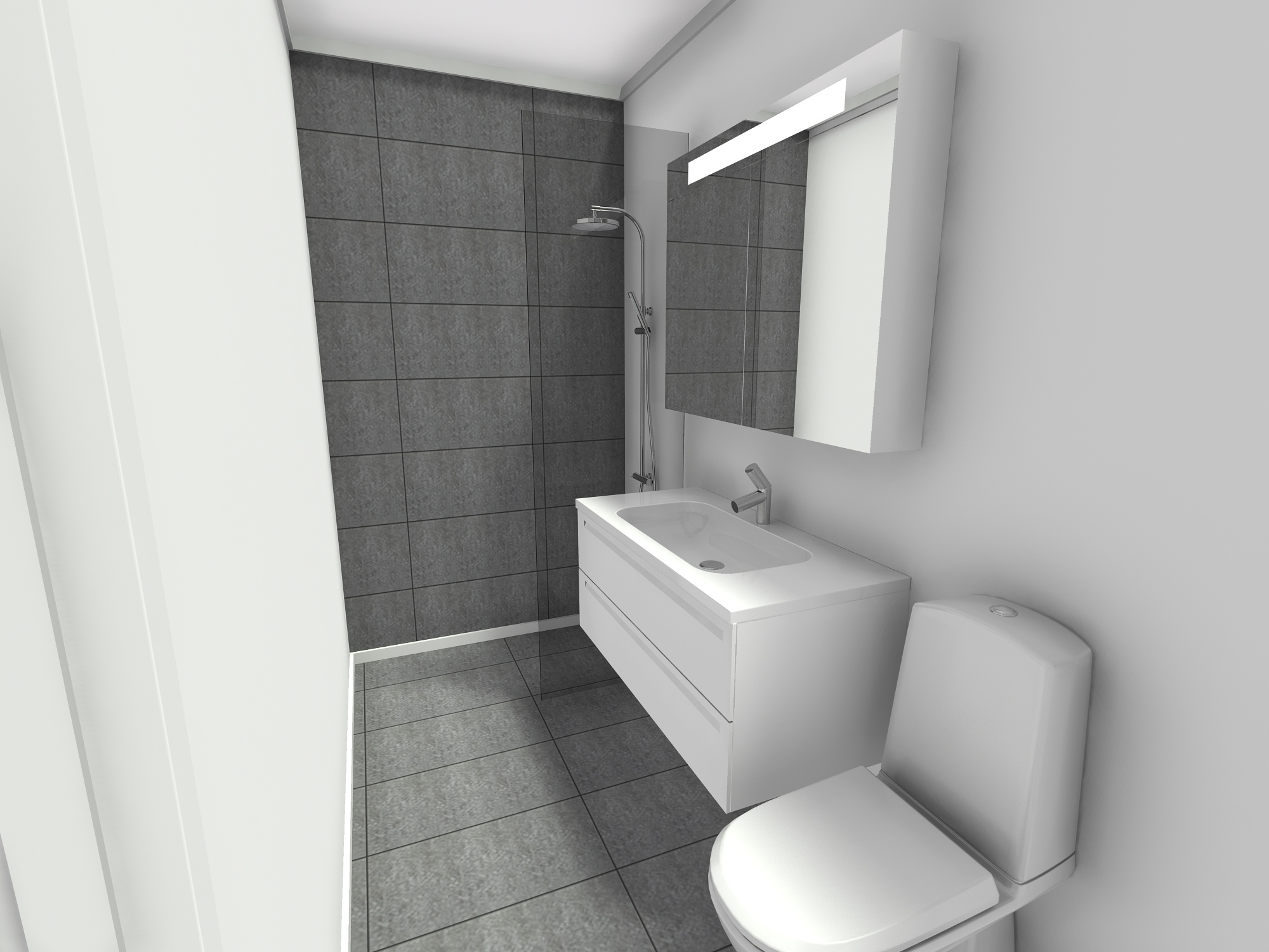 New Bathroom in Christianshavn 3 D