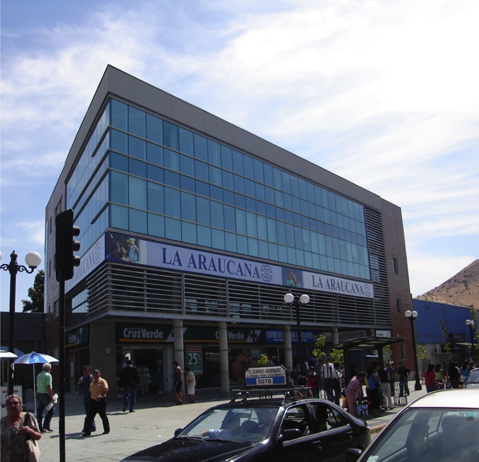 Strip Center San Bernardo